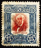 Postage stamp Mexico 1910 Epigmenio Gonzalez, revolutionary