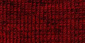 Red knitted pattern