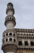 stock photo of charminar  - Charminar in Hyderabad in Andhra Pradesh, India