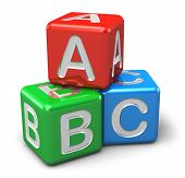 ABC color cubes