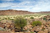 Twyfelfontein in Namibia, Africa