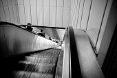 Escalator To Subway