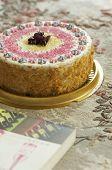 handmade filbert cake