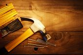 picture of carpentry  - Hammer - JPG