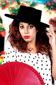 Andalusian Beautiful Woman