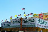 Nathan's Famous restaurant is reopen for business nearly seven months after superstorm Sandy