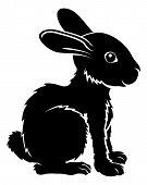Stylised Rabbit Illustration