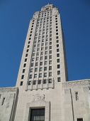 Louisiana State Capitol Building poster