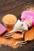 Body Care Accessories: Towels, Sea Salt, Soap, Pumice Stone