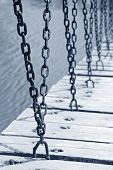 Wood And Iron Chains