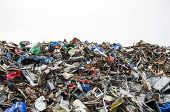 Metal Waste Ready To Be Recycled
