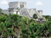Mayan Temple Of Tulum
