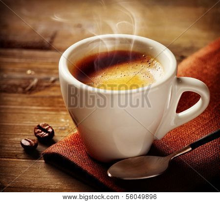 Coffee. Coffee Espresso. Cup Of Coffee  poster