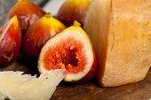 Pecorino Cheese And Fresh Figs
