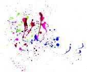 Splattered Colors