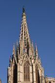 Barcelona Gothic Cathedral Tower