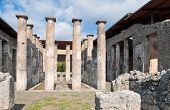 The Ruins Of Pompeii Temple