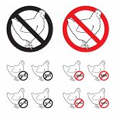 Poultry No signs - white board