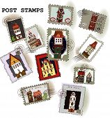 Post stamp collection