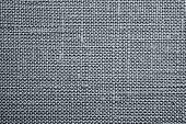 Silvery Background Of Rough Dense Fabric