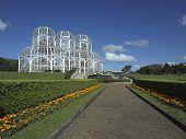 stock photo of public housing  - Jardim Botanico Public Botanical Garden Curitiba  - JPG
