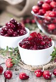Fresh Made Cranberry Jam