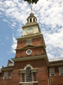 Front of Independence Hall