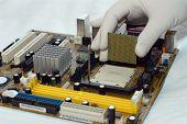 installing Central processor