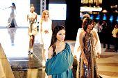 Models On Runway At Fashion Show For Dina El Kei