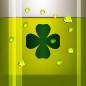 Green Beer. Vector