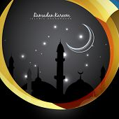 vector Ramadan Kareem illustration design