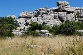 Karst landscape, El Torcal, Spain.