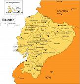Ecuador, Administrative Districts, Capitals