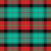 Vector Seamless Pattern Scottish Tartan Prince Edward Island