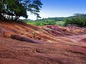 foto of chamarel  - The most famous tourist place of Mauritius  - JPG