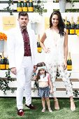 JERSEY CITY, NJ-MAY 31: Designer Eli Mazrahi (L) and Shanina Shaik attend the 7th Annual Veuve Cliqu