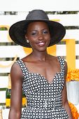 JERSEY CITY, NJ-MAY 31: Actress Lupita Nyong'o attends the 7th Annual Veuve Cliquot Polo Classic at Liberty State Park on May 31, 2014 in Jersey City, NJ.