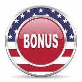 bonus american icon, usa flag