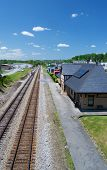 Historic Norfolk & Western Passenger Depot, Abington, Virginia