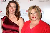 LOS ANGELES - MAY 31:  Wendy Wilson, Carnie Wilson at the