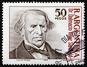 Postage Stamp Argentina 1977 Dalmacio Velez Sarsfield, Lawyer