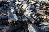 pic of landfill  - Piles of garbage on the city landfill - JPG