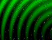 Abstract Green Gradient Pattern