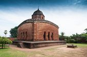 picture of radha  - Madanmohan Temple Bishnupur India  - JPG