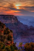 Sunset Grand Canyon Arizona