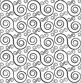 Spirals Seamless Pattern