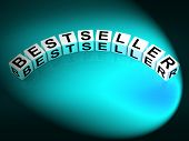 Bestseller Letters Show Most Popular And Hot Item