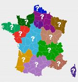 New French regions.