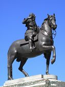 King Charles 1 (1600-1649) equestrian statue