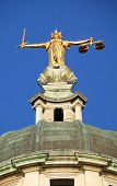 Lady of Justice Old Bailey